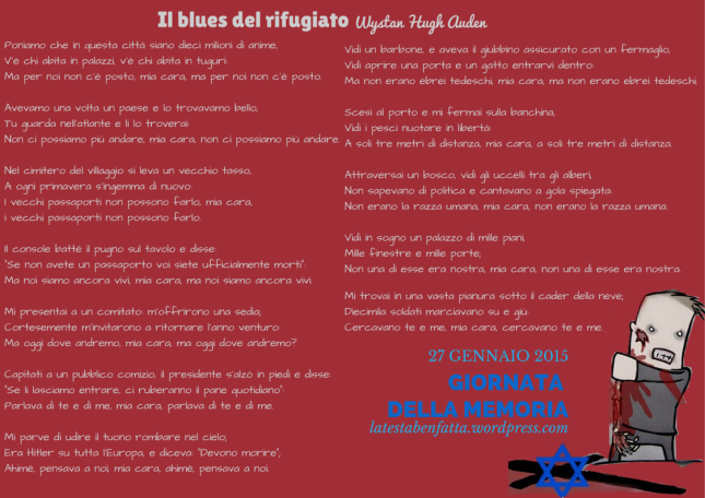 Il blues del rifugiato