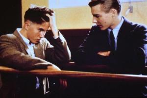 """Scena tratta dal film  """"L'amico ritrovato"""""""